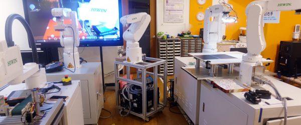 圖2-智慧機器人創客基地